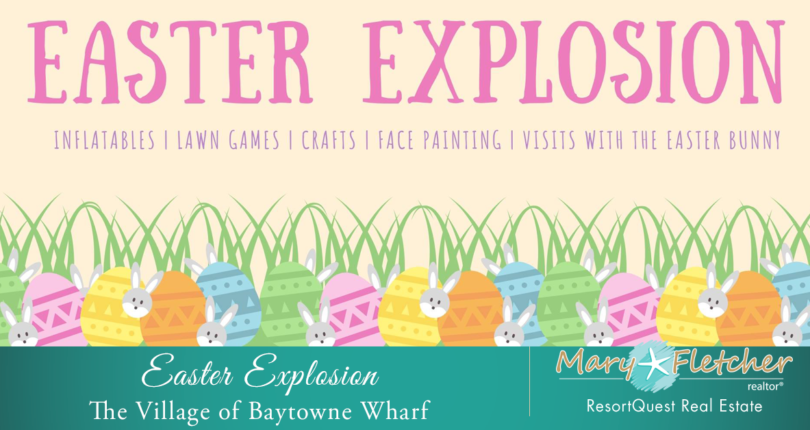2019 Easter Explosion at The Village of Baytowne Wharf