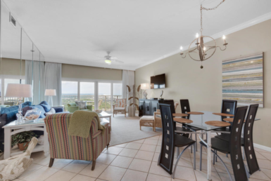 TOPS'L Beach Manor Unit C-1004, 9011 W Us Highway 98, Miramar Beach, FL 32550 Open-Living-Dining-View