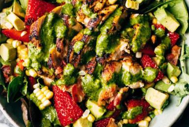chipotle chicken cobb salad