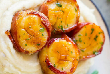 Recipe - bacon wrapped scallops